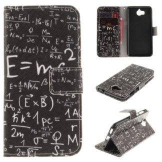 fodral till y6 2017 med matematiska formler, fungerar som plånbok med kortplatser och sedelficka