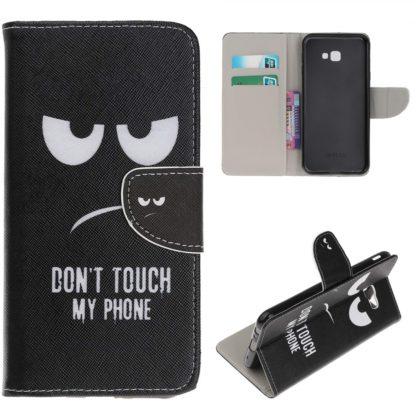 plånbok fodral samsung galaxy j4 plus dont touch my phone