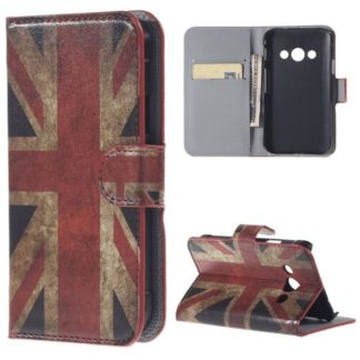 Plånboksfodral Samsung Xcover 3 (SM-G388F) - Flagga UK