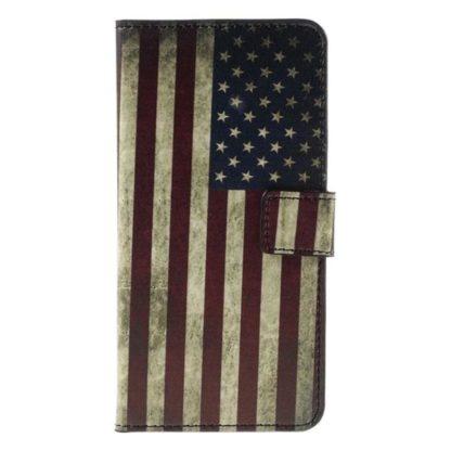 Plånboksfodral Huawei Honor 7 - Flagga USA