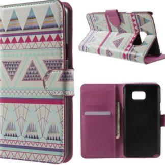 Plånboksfodral Samsung Galaxy S7 Edge - Aztek