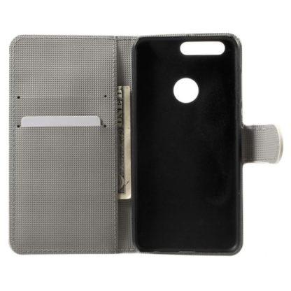Plånboksfodral Huawei Honor 8 – Ugglor & Hjärtan