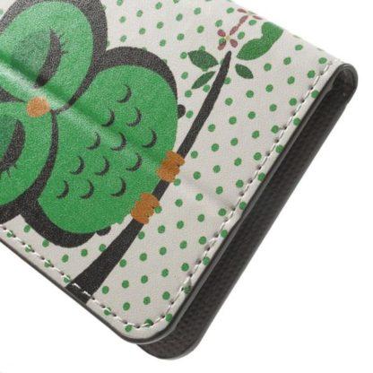 Plånboksfodral Huawei Honor 8 – Prickigt med Uggla
