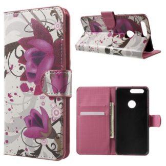 Plånboksfodral Huawei Honor 8 – Lotus