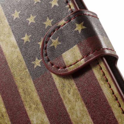 Plånboksfodral Huawei Honor 8 - Flagga USA