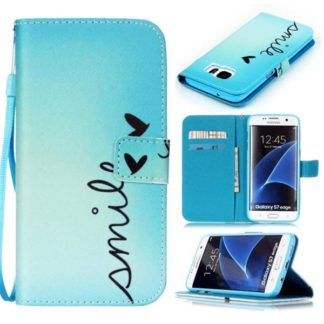 Plånboksfodral Samsung Galaxy S7 Edge - Smile