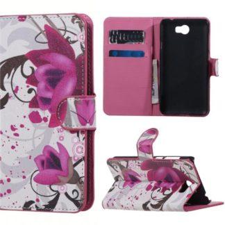 Plånboksfodral Huawei Y6 II Compact – Lotus