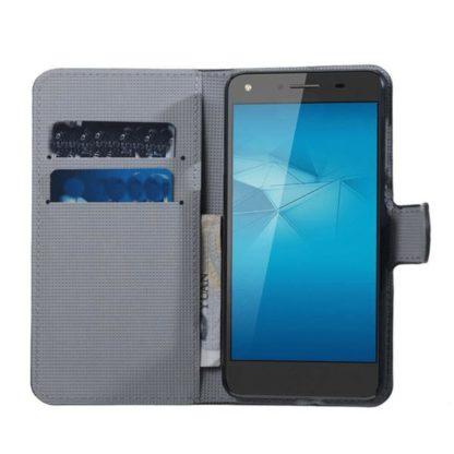 Plånboksfodral Huawei Y6 II Compact – Ugglor & Hjärtan