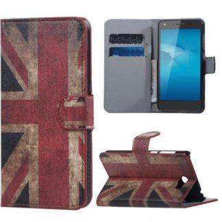 Plånboksfodral Huawei Y6 II Compact - Flagga UK
