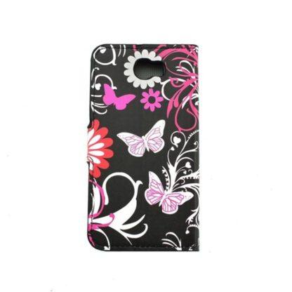 Plånboksfodral Huawei Y6 II Compact - Svart med Fjärilar