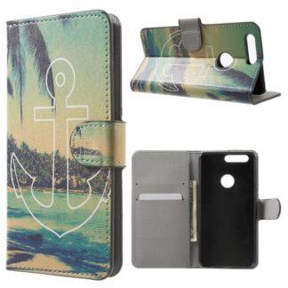 Plånboksfodral Huawei Honor 8 - Ankare