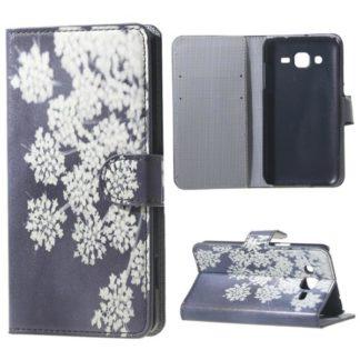 Plånboksfodral Samsung Galaxy J3 (2016) – Små Blommor