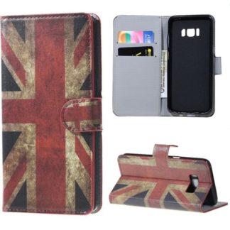 Plånboksfodral Samsung Galaxy S8 - Flagga UK