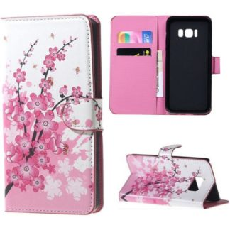 Plånboksfodral Samsung Galaxy S8 Plus - Körsbärsblommor