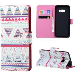 Plånboksfodral Samsung Galaxy S8 - Aztek