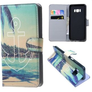 Plånboksfodral Samsung Galaxy S8 Plus - Ankare