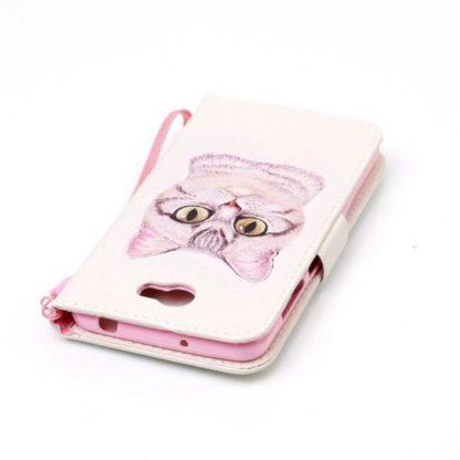Plånboksfodral Huawei Y6 II Compact – Katt