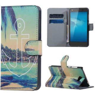 Plånboksfodral Huawei Y6 II Compact - Ankare