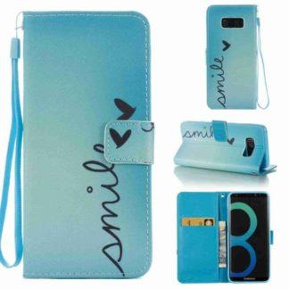 Plånboksfodral Samsung Galaxy S8 - Smile