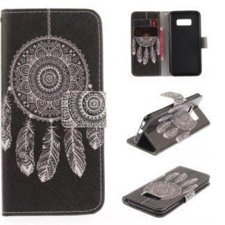 Plånboksfodral Samsung Galaxy S8 – Drömfångare Svart