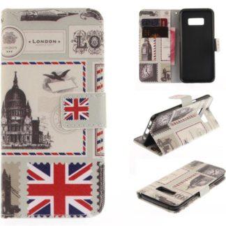 Plånboksfodral Samsung Galaxy S8 – London