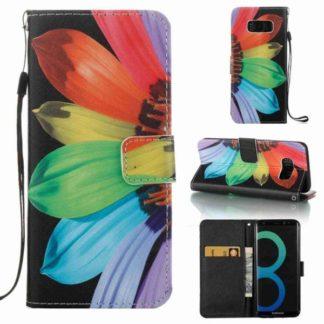 Plånboksfodral Samsung Galaxy S8 - Solros