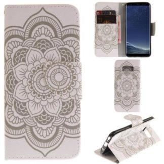 Plånboksfodral Samsung Galaxy S8 – Mandala Guld
