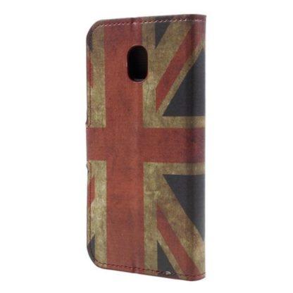 Plånboksfodral Samsung Galaxy J5 (2017) - Flagga UK