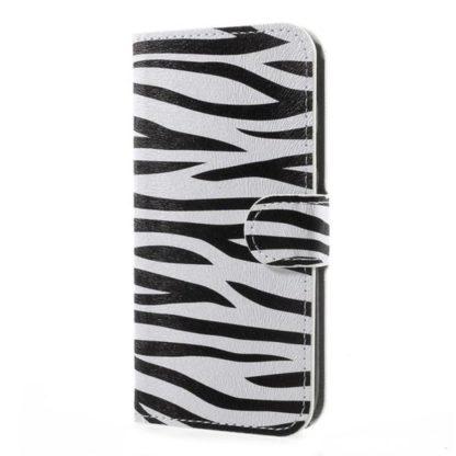 Plånboksfodral Samsung Galaxy J5 (2017) - Zebra