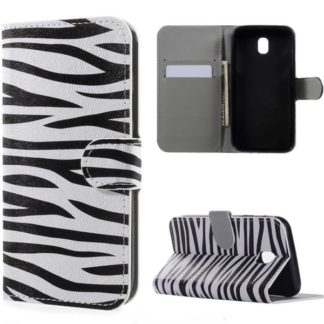 Plånboksfodral Samsung Galaxy J3 (2017) - Zebra
