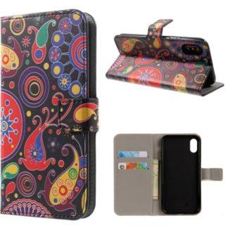 Plånboksfodral iPhone X / iPhone Xs - Jellyfish