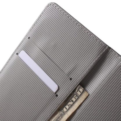 Plånboksfodral Huawei Y6 2017 – Blå Fjäril