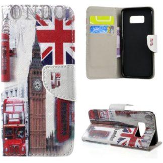 Plånboksfodral Samsung Galaxy S8 - London