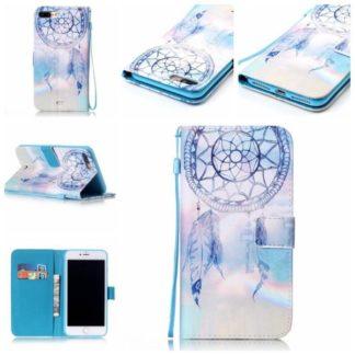 Plånboksfodral iPhone 8 Plus – Drömfångare Himmel