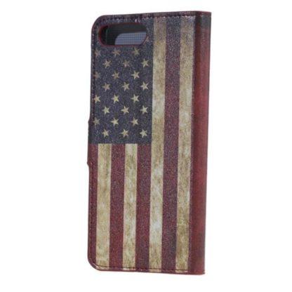 Plånboksfodral Apple iPhone 8 Plus - Flagga USA