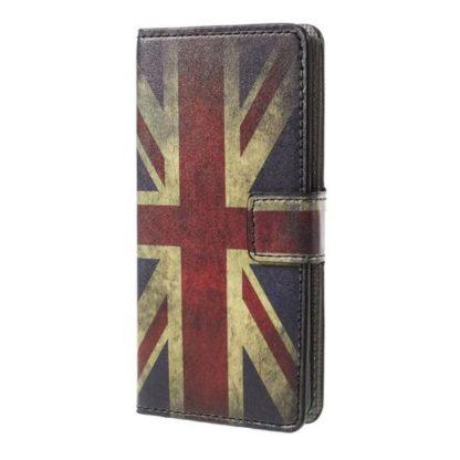 Plånboksfodral Apple iPhone 8 Plus - Flagga UK