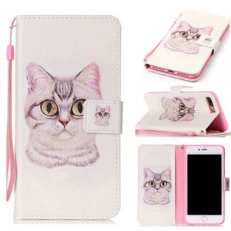 Plånboksfodral Apple iPhone 8 Plus – Katt