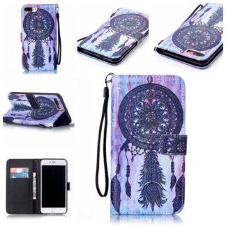 Plånboksfodral Apple iPhone 8 Plus - Drömfångare Lila