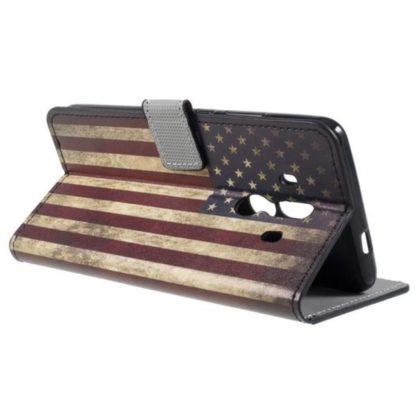 Plånboksfodral Huawei Mate 10 Pro - Flagga USA