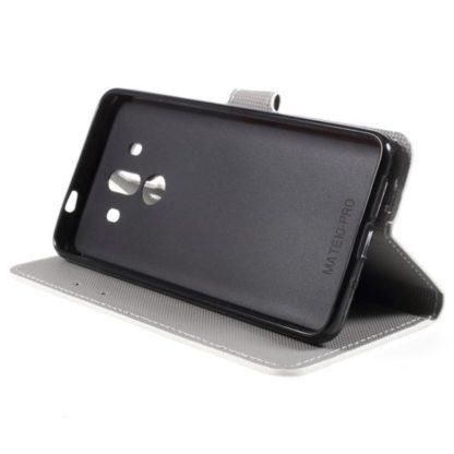 Plånboksfodral Huawei Mate 10 Pro – Prickigt med Uggla