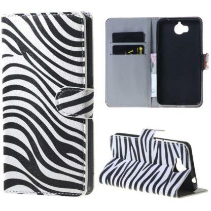 Plånboksfodral Huawei Y6 2017 - Zebra