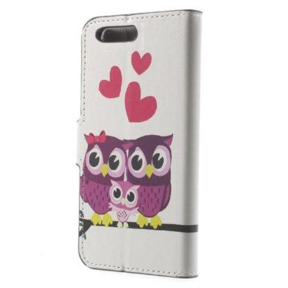 Plånboksfodral Huawei Honor 9 – Ugglor & Hjärtan