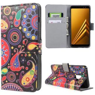 Plånboksfodral Samsung Galaxy A8 (2018) - Jellyfish