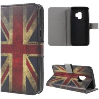 Plånboksfodral Samsung Galaxy S9 - Flagga UK