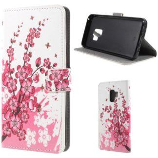 Plånboksfodral Samsung Galaxy S9 - Körsbärsblommor