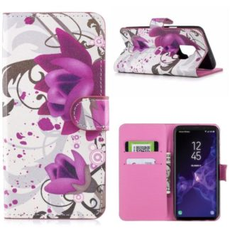 Plånboksfodral Samsung Galaxy S9 – Lotus
