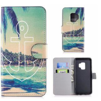 Plånboksfodral Samsung Galaxy S9 - Ankare