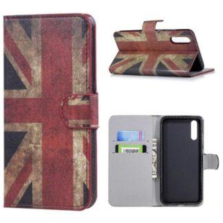 Plånboksfodral Huawei P20 - Flagga UK