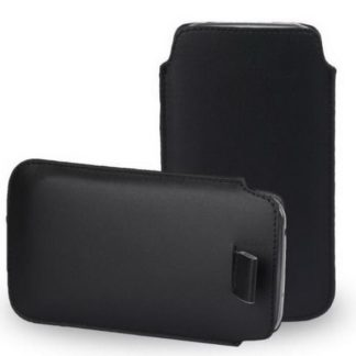 Läderfodral Huawei Mate 10 Lite - Svart