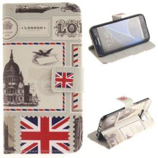 Plånboksfodral Samsung Galaxy S7 Edge - London